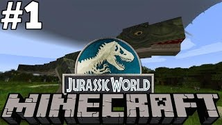 Jurassic World Minecraft # 1- Getting Set Up