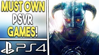 Top 10 MUST OWN PSVR Games (BEST PlayStation VR Games)