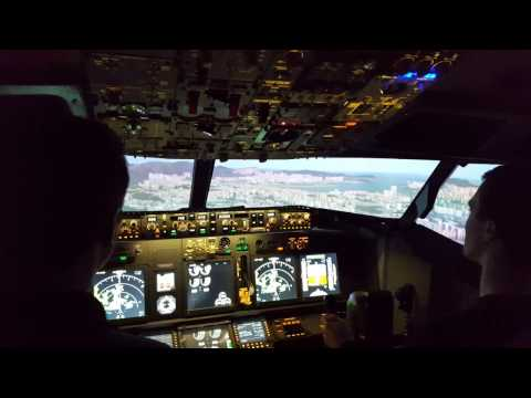 Virtual Flight Experience - Chris takes on Kai Tak