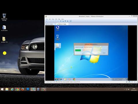 Como compartir archivos entre Windows 8.1 y maquina virtual de Windows 7 con Vmware