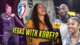 We Hung Out With KOBE BRYANT & Kayla McBride At WNBA All-Star Weekend! The Parties Got CRAZY 😧