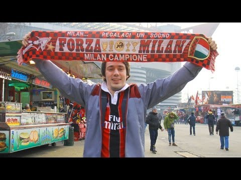 AC Milan v Barcelona   Eurofan