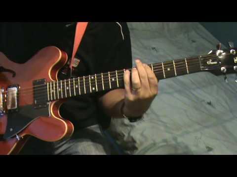 Status Quo-Claudette(Rick Parfitt Guitar Cover)