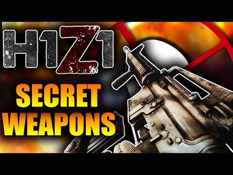 NEW M16 in H1Z1?? NEW Secret Weapon Skins Teased for H1Z1 King Of The Kill (Ultra Rare Skins)