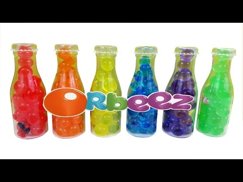 Orbeez Rainbow Bottles Surprise SpongeBob Barbie Spiderman Minions Wonder Woman Filly Elves