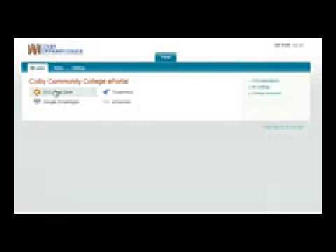 Logging in Using ePortal at Colby Community College