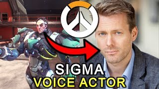 SIGMA VOICE ACTOR | Overwatch *NEW HERO*