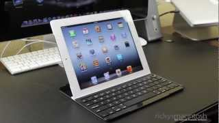 Logitech Ultra Thin Keyboard Cover for iPad 2 and New iPad