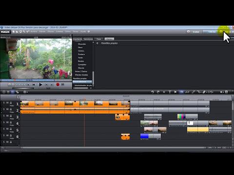 CURSO DE MAGIX VIDEO DELUXE COMPLETO EN UN SOLO TUTORIAL
