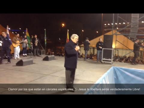 Ev. Carlos Annacondia: Oración Para que se corten las cadenas espirituales. Córdoba Jesús Te Ama!
