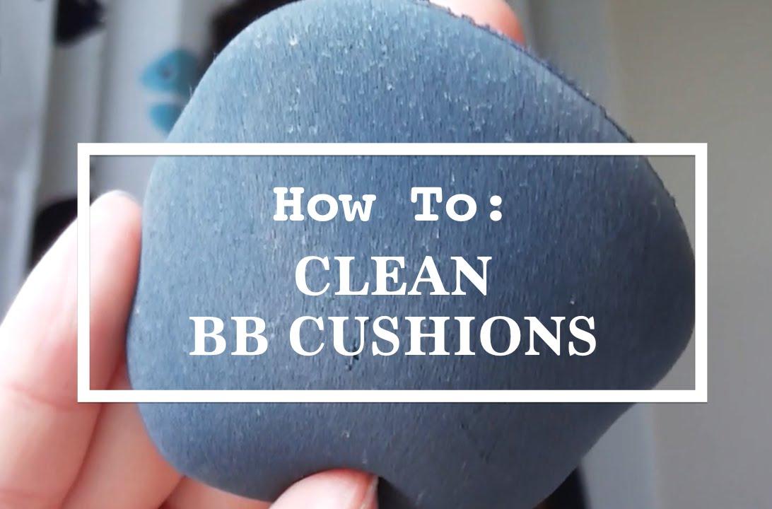 how to clean caravan cushions