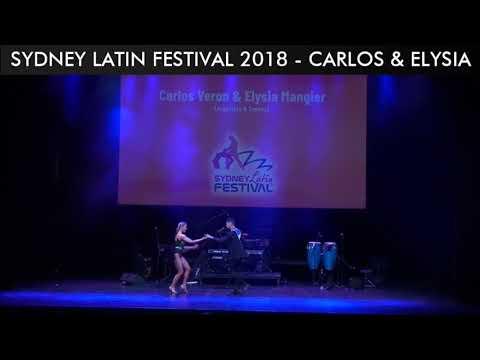 SYDNEY LATIN FESTIVAL 2018 - CARLOS & ELYSIA