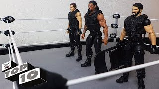 Coolest Moments of Seth Rollins, Dean Ambrose & Roman Reigns: WWE Top 10 Special Edition