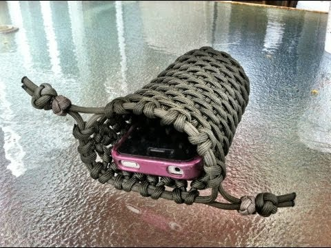 How to make a paracord utility pouch by tiat how to make for How to make a paracord utility pouch