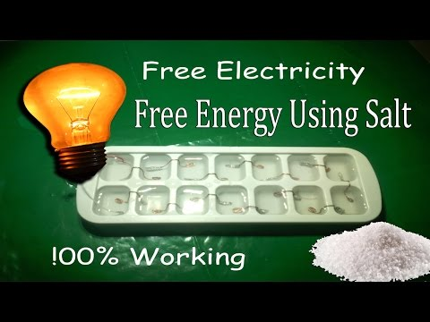 How To Make Free Electricity Using Salt Water By Pak LifeHacker thumbnail