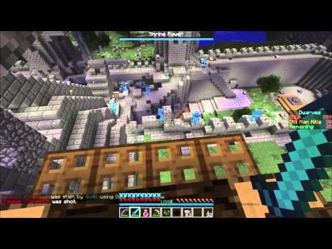 Minecraft Dwarves vs Zombies - Epic Keep