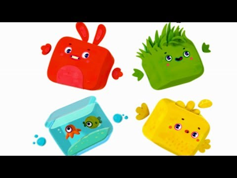 Четверо в кубе - Есть контакт -  Премьера мультика  - 1 серия - познавательный мультфильм для детей