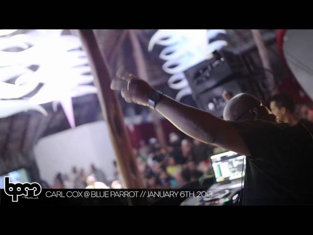 THE BPM FESTIVAL 2013: Carl Cox @ Blue Parrot