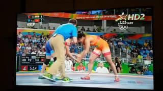 sakshi malik bronze medal match