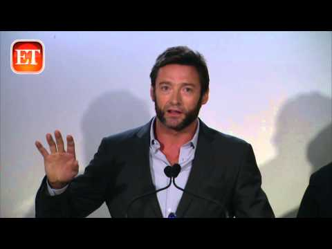 Hugh Jackman Honors a Man Close to His Heart