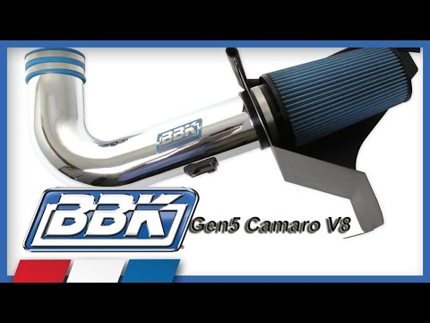 Camaro V8 & V6 Cold Air Intake Kit Installation & Dyno Test (2010-2013