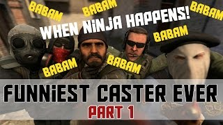 Funniest Caster Ever =D  [Part 1] TABSEN NINJA DEFUSE