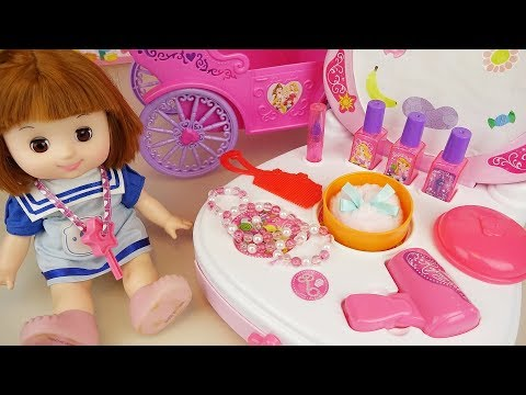 Baby doll beauty surprise and jewelry toys play