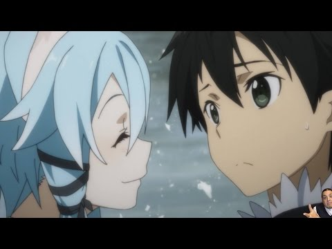 Sword Art Online 2 Episode 17 ソードアート・オンライン II Anime Review -- End of Calibur = Sinon X Kirito LIVES