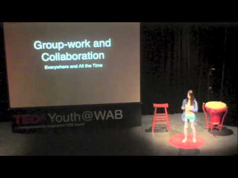 The Art Of Being Glue: Lily Zhao At Tedxyouthwab video