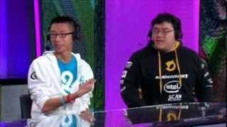 Cloud 9 Hai and Dignitas Scarra talk about how to counter Gragas, Faker | W5D2 S4 NA LCS Spring