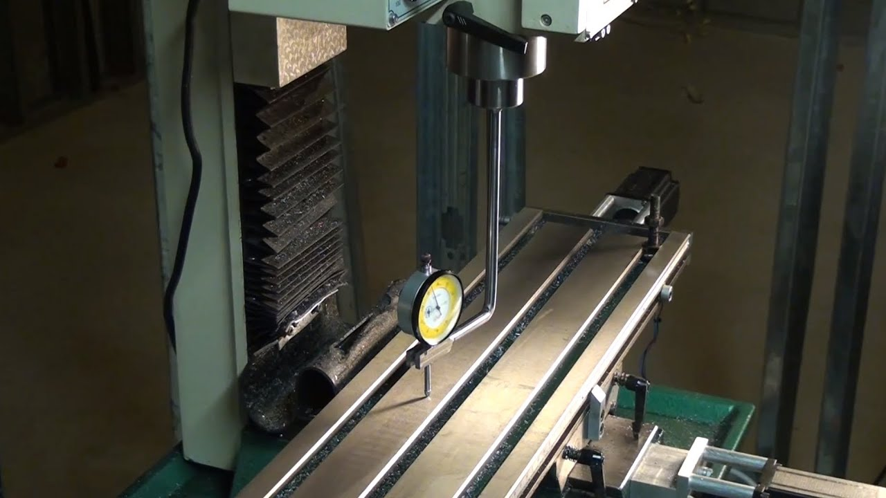 Spindle Mounted Dial Indicator Holder Youtube