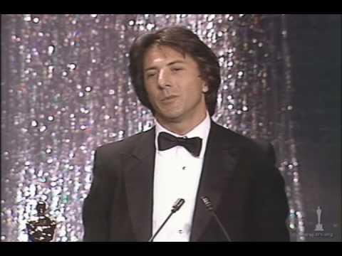 Dustin Hoffman winning Best Actor for