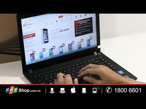 FPTShop - Đập hộp - Lenovo Ideapad 100