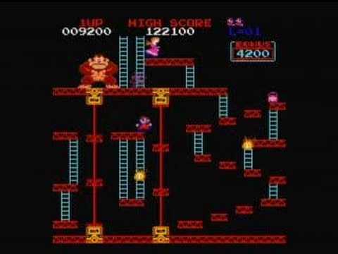 Classic Donkey Kong Arcade