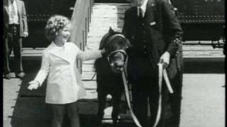 Movietone News (1936):  Dick Powell, Joan Blondell, Shirley Temple