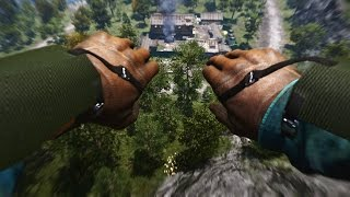 Far Cry 4 - undetected stealth Outpost Liberation , proximity Wingsuit Action + JEEP C4 Double Kill