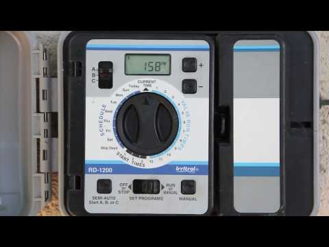Webbtraining1 - Raindial Irrigation Timer