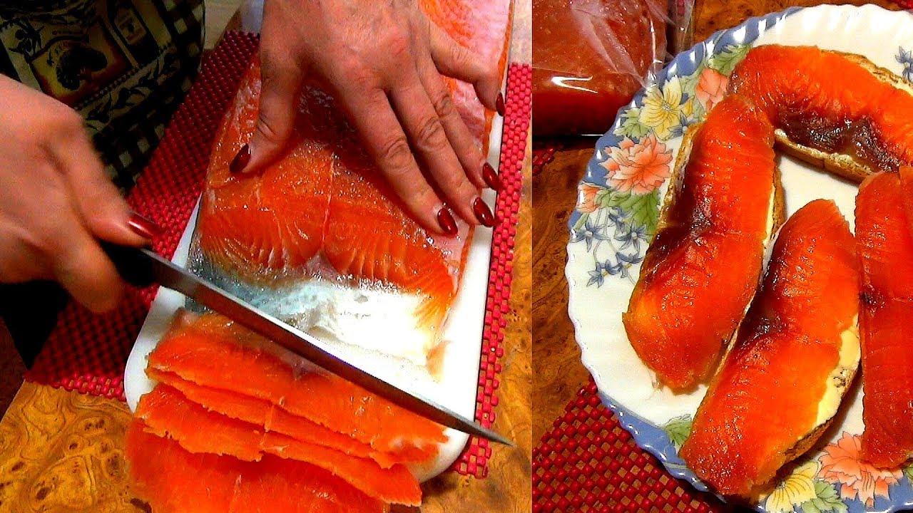как засолить красную рыбу быстро и вкусно
