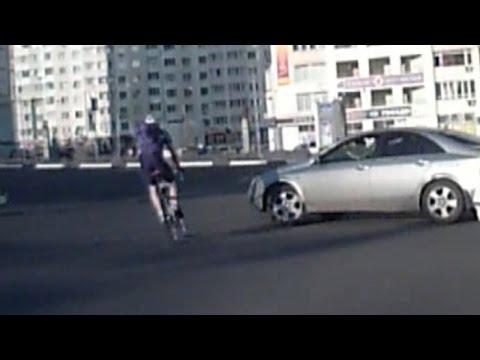 ДТП с участием велосипедиста Белгород 07.05.2015 (Конева-Щорса)