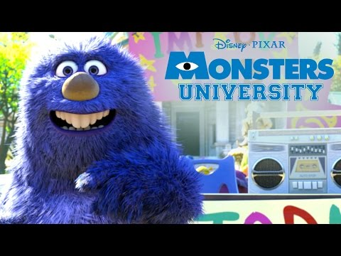 Monthropology   Monsters U   Disney Pixar