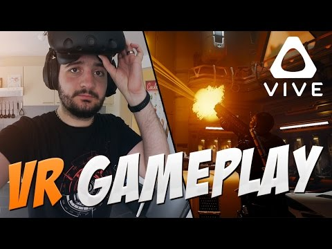 Virtual Reality! HTC Vive Gameplay