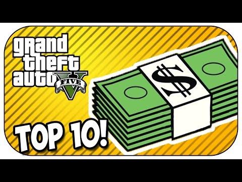 Top 10 MONEY MAKING METHODS in GTA 5 ONLINE 2017/2018!