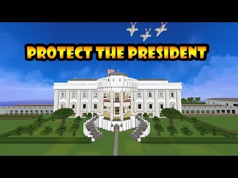 Minecraft: Protect the president + Descarga / Download   The white house