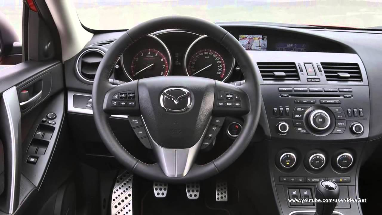 2013 Mazda 3 Mps Interiors And Exteriors Youtube