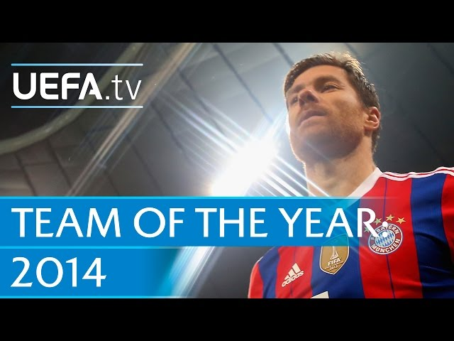 Xabi Alonso: 2014 Team of the Year nominee