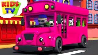 Wheels On The Bus   Baby Bao Panda   Preschool Nursery Rhymes For Babies   Cartoon Videos - Kids TV