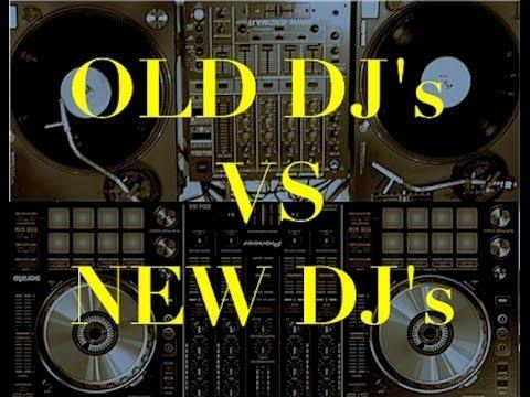 Old DJ's vs New DJ's (generation gap)