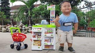 Trò Chơi Siêu Thị Và Xe Đẩy Mua Sắm ❤ ChiChi ToysReview TV ❤ Đồ Chơi Trẻ Em Baby Doli