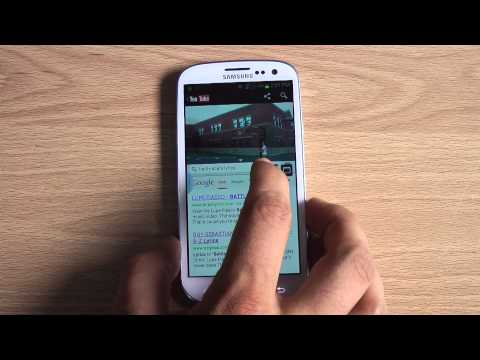 NEW! Samsung Galaxy S3 Multi-Window Feature Hands On (Android 4.1.2 Update on US Cellular)