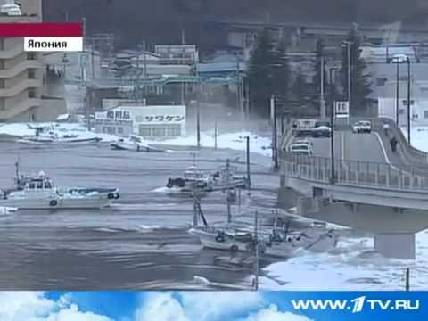Самое разрушительное за всю историю цунами в Японии